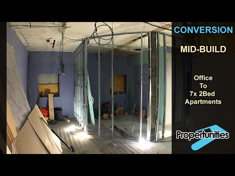 Office to Residential Conversion - A tour by Miles Bulloch at Propertunities [Video 4]