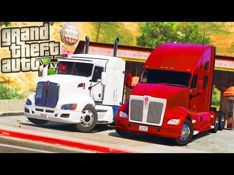Kenworth Trucking! - GTA 5 Real Life Mod - Day 21