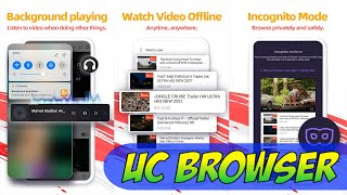 How To Use UC Browser Secure, Free And Fast Video Downloader On Your Android Devices EASY GUIDE screenshot 1