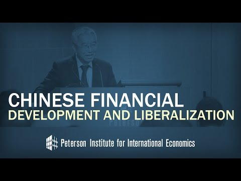 Yu Yongding: Chinese Financial Development and Liberalization