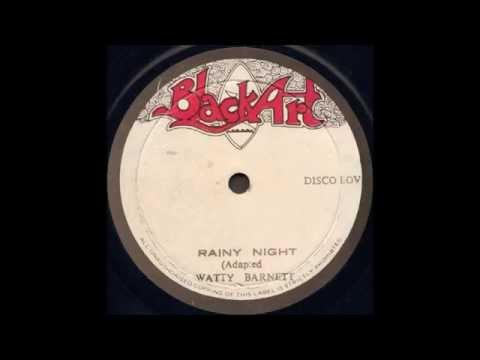 Watty Burnett - Rainy Night