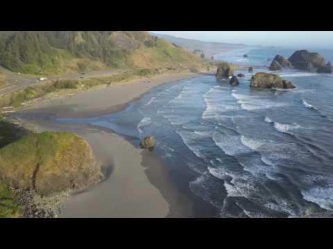 Pacific Coast Highway 1 - Drone DJI Mavic pro -