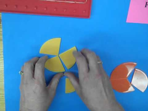Fraction Models Area Grade 4 Math Youtube