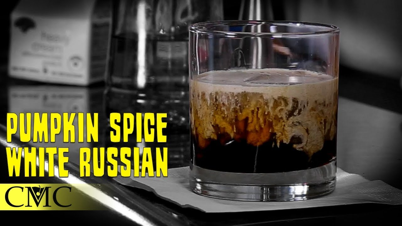 how to make white russian cocktail