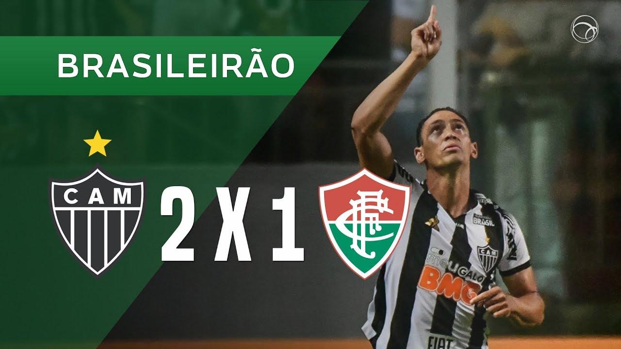 Atletico Mg 2 X 1 Fluminense Gols 10 08 Brasileirao 2019 Youtube