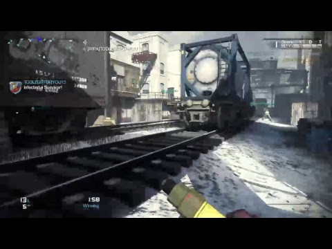 Cod ghosts infected