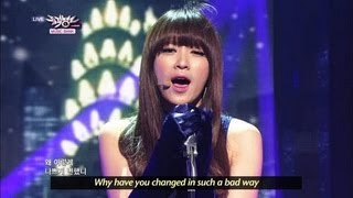 [Music Bank w/ Eng Lyrics] DASONI - Said So Often (2013.04.06)