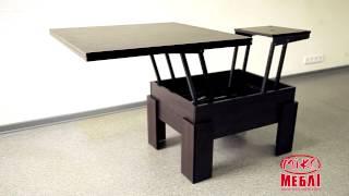 МИКС Мебель Стол-трансформер Дельта(Сайт компании МИКС-Мебель: www.mixmebli.com С помощью одного стола вы сможете соединить столовую и гостиную в одной..., 2015-08-10T14:38:57.000Z)