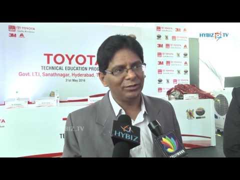 Padmanabha - Customer Service Group Toyota Kirloskar Motors - hybiz