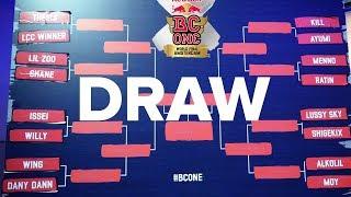 RED BULL BC ONE WORLD FINALS 2017 BRACKET DRAW