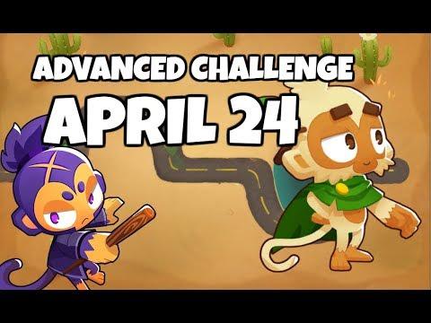 BTD6 Advanced Challenge - Druid Of The Road - April 24 2019