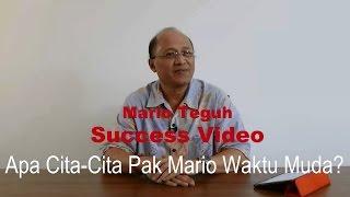 Gambar cover Apa Cita-Cita Pak Mario Waktu Muda? - Mario Teguh Success Video