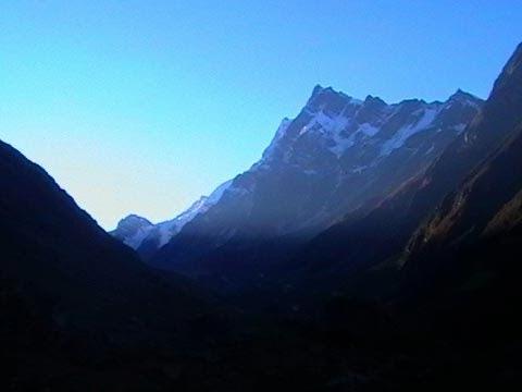 Swargarohini, a mountain massif