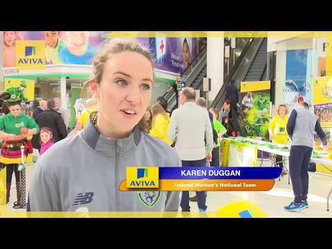 #IRLWNT - Karen Duggan at the Square, Tallaght