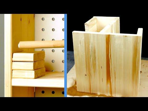 12 mobili in legno fai da te incredibilmente semplici da costruire