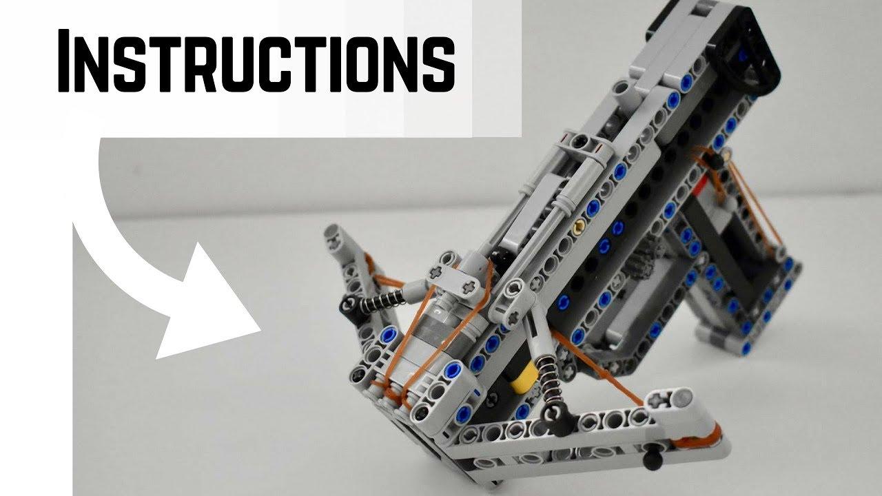 LEGO Foldable Crossbow INSTRUCTIONS | WORKING Lego Gun ...