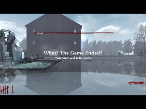 BashTheOutcast First Cod WaW Custom Zombie LakeMichigan Map live stream