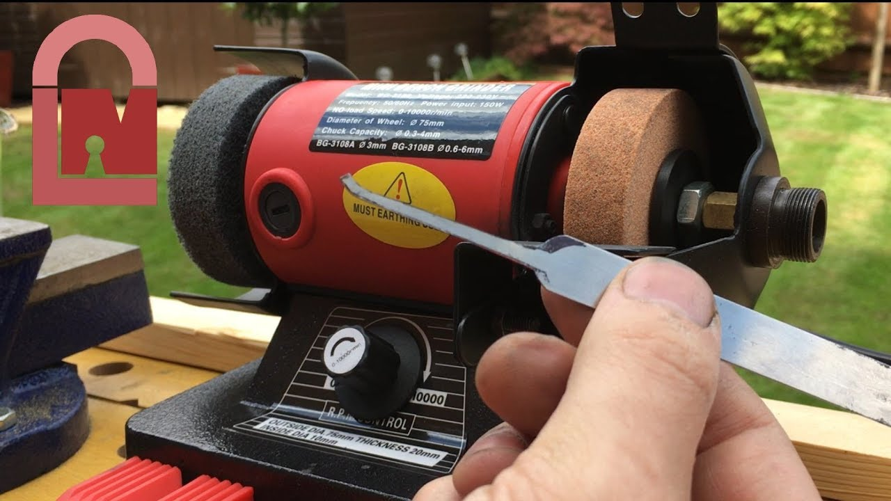 268 Review Mini Bench Grinder Youtube