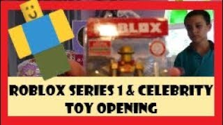 Jazwares Roblox Toys Series 1 and Celebrity Toy Opening #Roblox #Jazwares #ToyOpening
