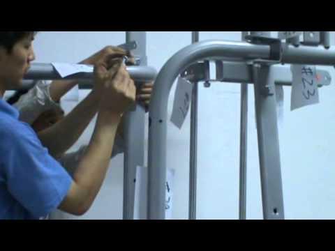 Home Gym HG470M Assembly Instruction