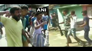 West Bengal cops evict protestors as BJP team visits violence-hit Bhatpara
