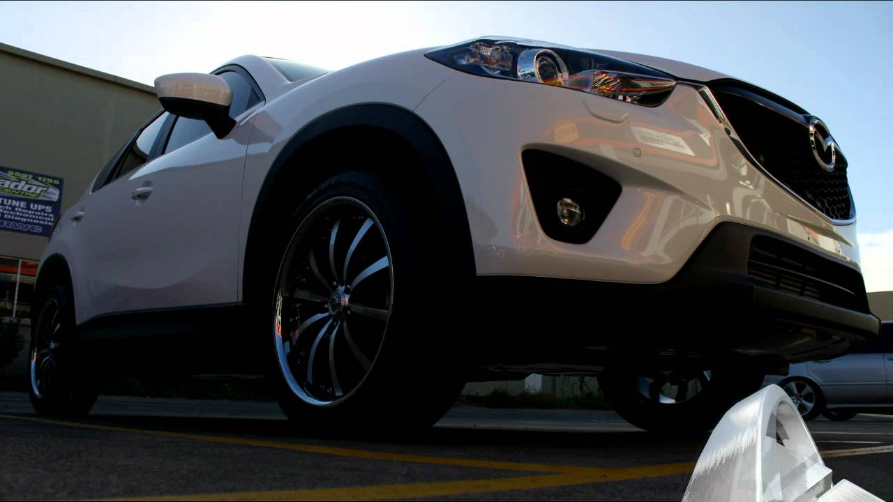 Mazda Cx >> Mazda CX5 rolling 20 inch Lexani LSS-10 Wheels - YouTube