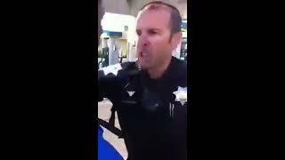 California cop wrestles with high school student for jaywalking