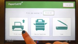 PaperCut MF for Ricoh Multifunction Devices Interface Walkthrough