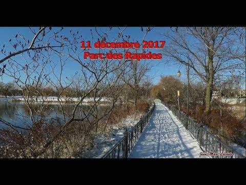 """Vidéo une minute: 11 décembre  dans le """" Parc des Rapides """""""