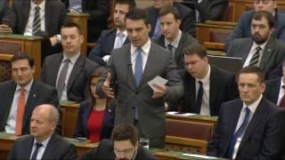 Vona Gábor reagálása Orbán Viktor napirend előtti felszólalására (2017.02.20.)