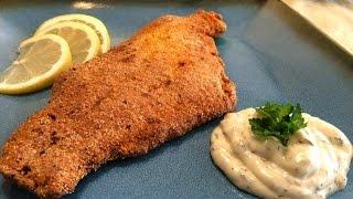 Pan Fried Catfish With Tartar Sauce