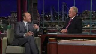 Kevin Spacey explains Twitter to David Letterman