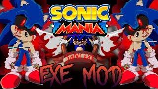Sonic Mania - Sonic.EXE Demo Mod v.0.3. (обзор мода)