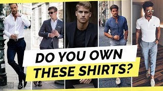 5 Shirts Every Man Needs