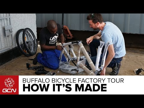 How Is A Buffalo Bicycle Built? | World Bicycle Relief on GCN