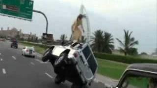 Happend in Jumeira... Car Drifting.