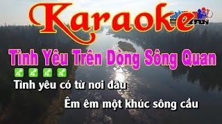 Karaoke Tình Yêu Trên Dòng Sông Quan Họ