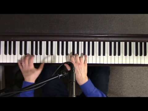 "Route 66 – Nat ""King"" Cole cover- jazz/blues piano/vocal by Peter Hostage"