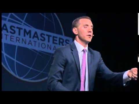 Eric Feinendegen - 2015 World Championship of Public Speaking ▶8:13