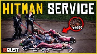 Running a HITMAN SERVICE for PROFIT - Rust Shop Roleplay [Part 2/2]