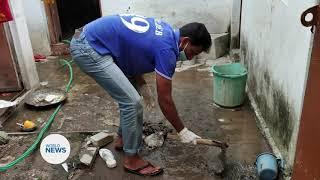Khuddamul Ahmadiyya India Continue to Provide Aid During Floods