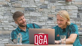 Trainingskamp Q&A met Lasse & Kasper