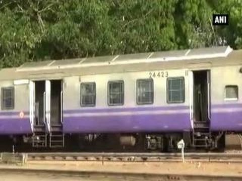 India's first solar train set for trial run