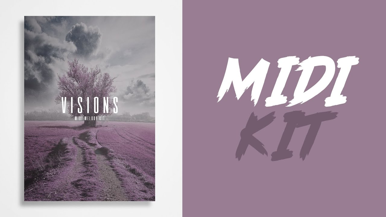 TRAP MIDI KIT DOWNLOAD 2018 - (Visions) - By