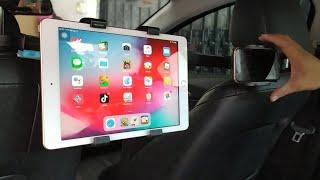Khám phá giá đỡ ipad, tablet và điện thoại trên ô tô giá siêu sốc