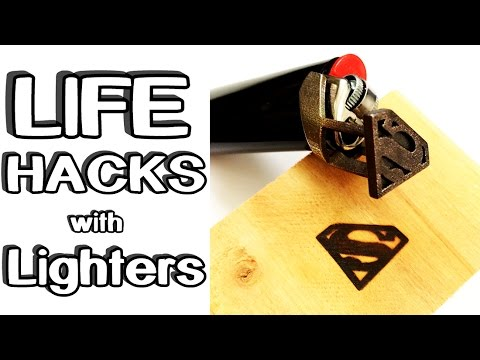Thumbnail: 5 incredible Life Hacks with Lighters!