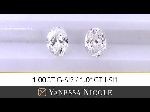1ct Oval Cut Diamond | Oval Shape Size Comparison | Diamond Selection for Evan