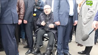"""Кернес - протестующим на Барабашово: """"вы в рабстве у Фельдмана"""""""
