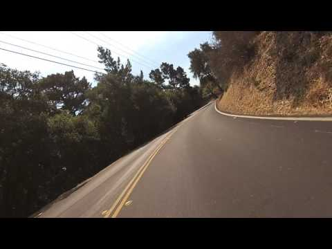 Riding from Berkeley Hills to Redwood Regional Park, California