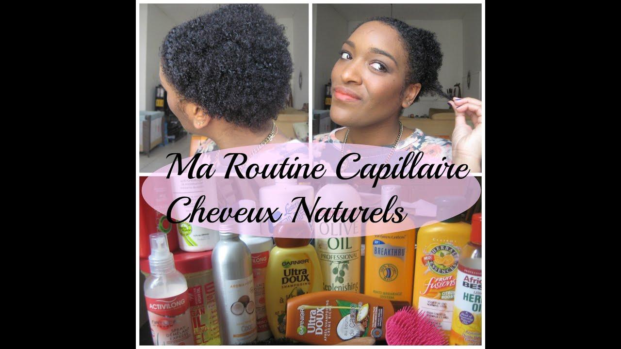 Berühmt MA ROUTINE CAPILLAIRE CHEVEUX CREPUS NATURELS - YouTube BF38